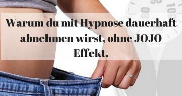 Warum du mit Hypnose dauerhaft abnehmen wirst.