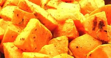Paulo Ernährung: die Süßkartoffel